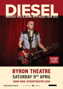 DIESEL - 'Greatest Hits & Alone With Blues' Tour presented by The Harbour Agency @ Byron Theatre | Byron Bay | New South Wales | Australia