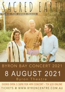 **POSTPONED TO SEPT** Sacred Earth Live Concert presented by Sacred Earth Music @ Byron Theatre | Byron Bay | New South Wales | Australia
